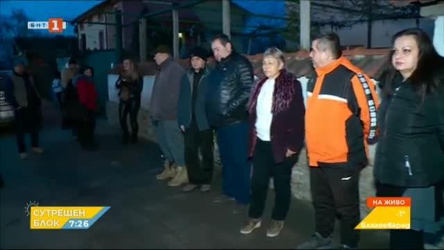 Село Калековец протестира срещу натоварения трафик през населеното място