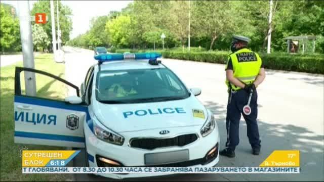 Полицейска акция срещу нарушители на пътя в Пловдив