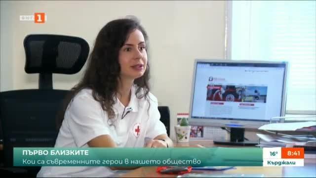 Преслава Лилова от БЧК и чудесата, с които дава надежда на стотици