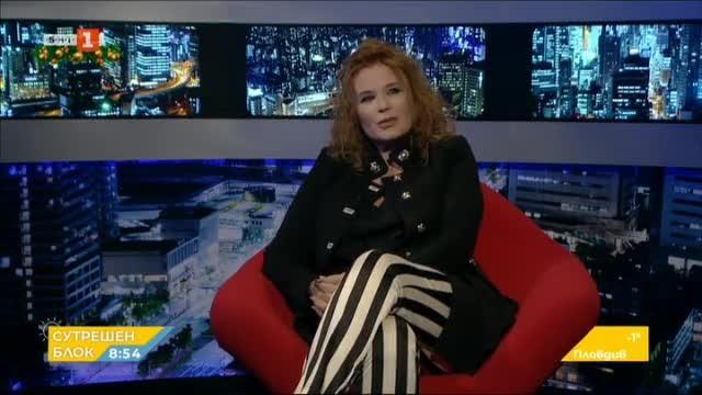 Аня Пенчева и Енчо Керязов в БНТ на 60
