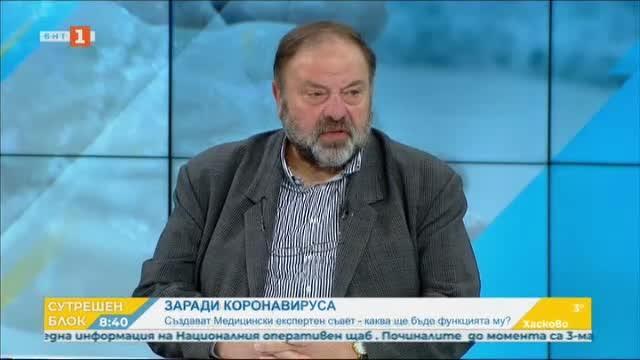 Как работят зъболекарите по време на пандемията - д-р Николай Шарков