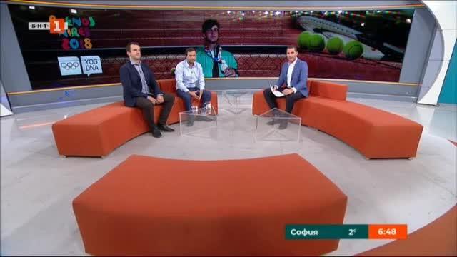 Адриан Андреев - младата надежда на българския тенис