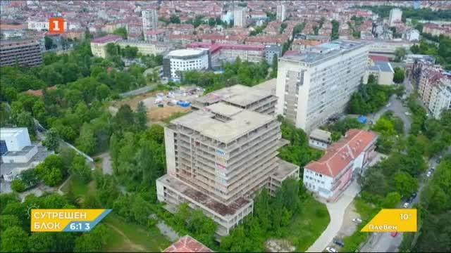 Недостроената сграда за детска болница в столицата ще бъде съборена