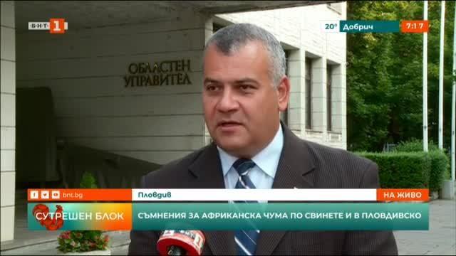 Съмнения за африканска чума по свинете и в Пловдивско