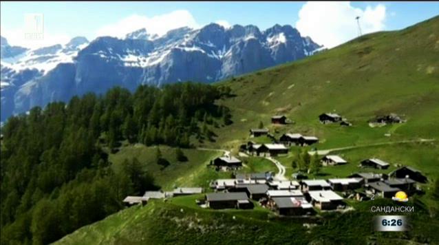 Швейцарско селце плаща, за да се заселиш в него