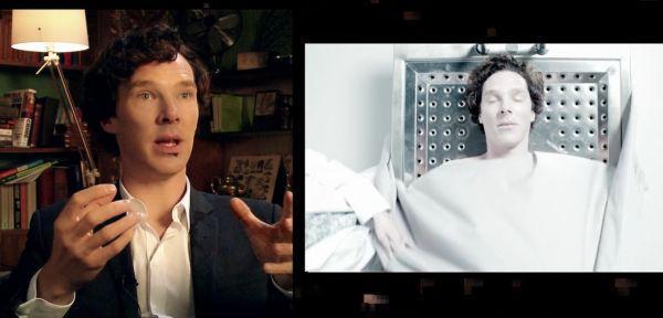 Шерлок: Зад кулисите