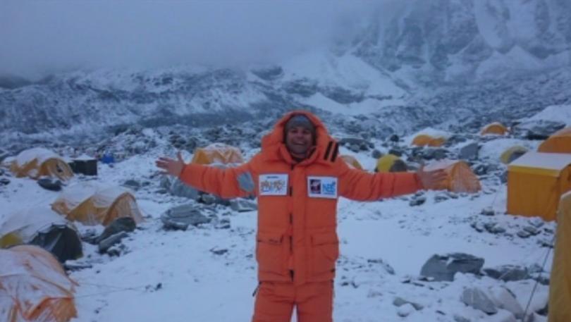 Bulgarian Atanas Skatov Who Climbed Everest Expected to Return to Base Camp