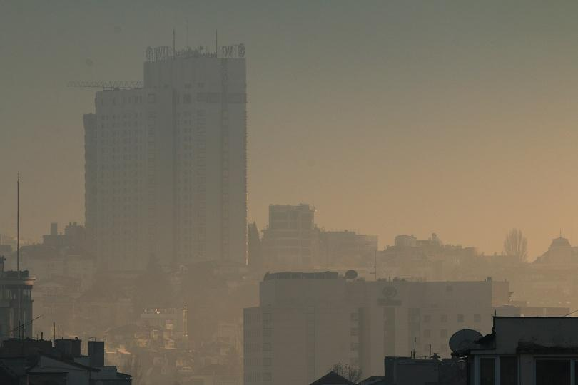 Air pollution in Sofia reaches dangerous levels today