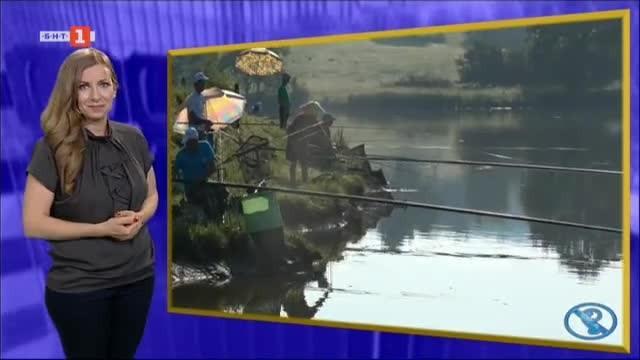 Държавно първенство по спортен риболов за глухи на язовир Палици