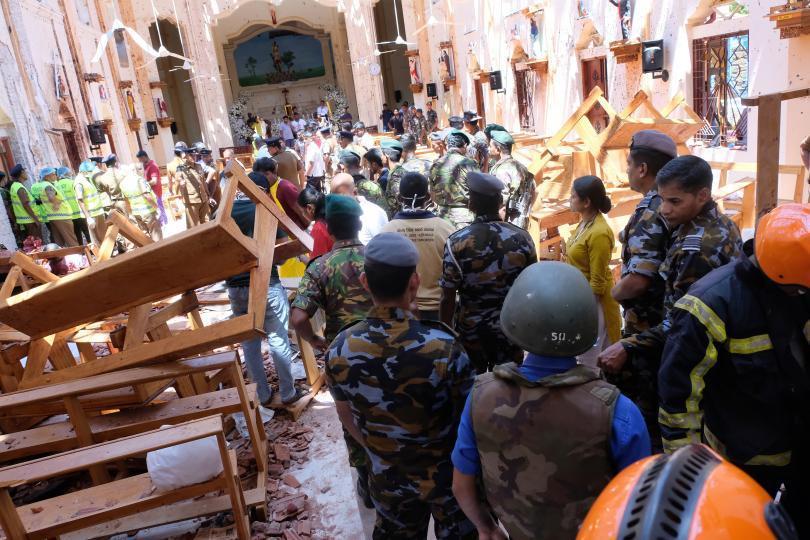 Кой стои зад взривовете в Шри Ланка?