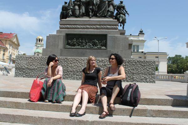 Три жени в полите на Витоша