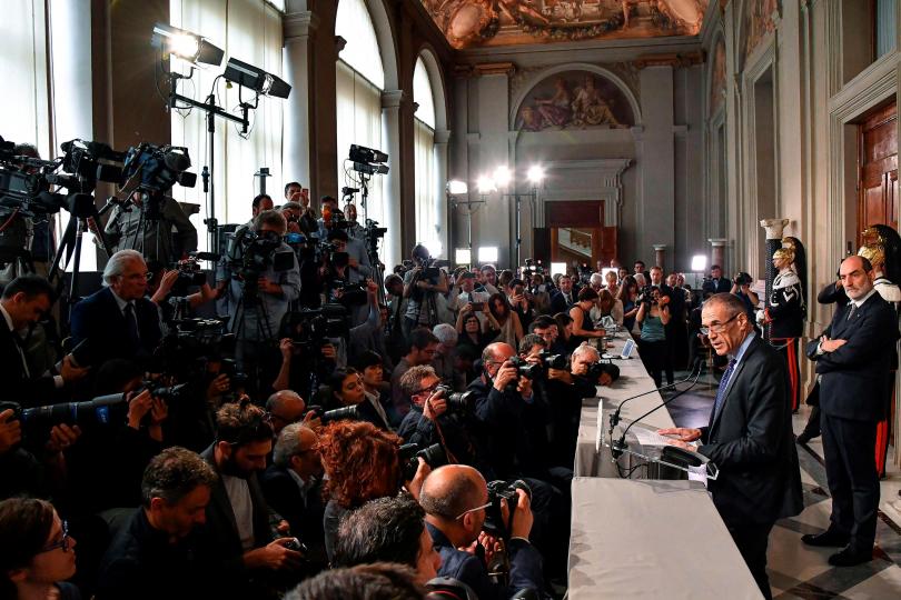 Политическа криза в Италия