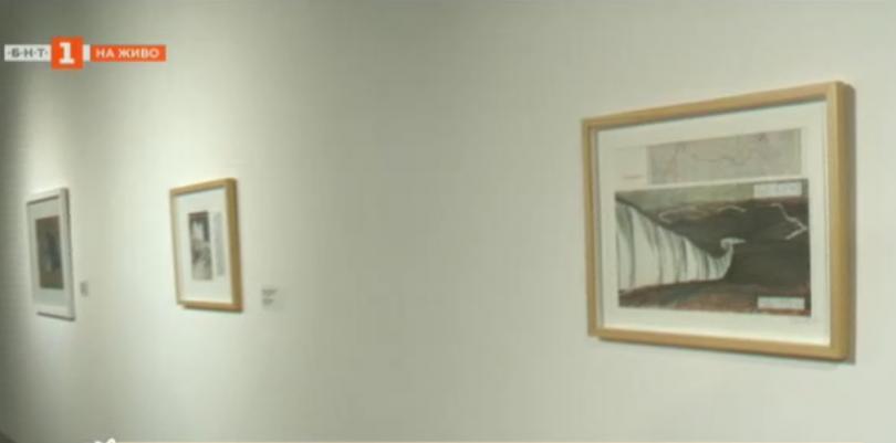 Почит към Кристо в Софийската градска художествена галерия