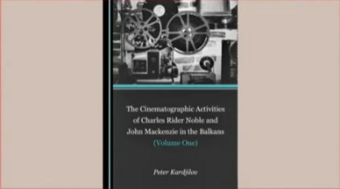 Кинематографическата деятелност на Чарлс Райдър и Джон Маккензи на Балканите