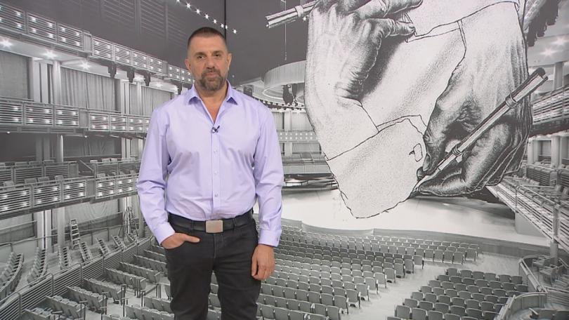 Владимир Зарев представя новия си роман