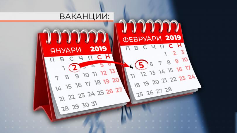 Защо тази година междусрочната ваканция е само един ден?