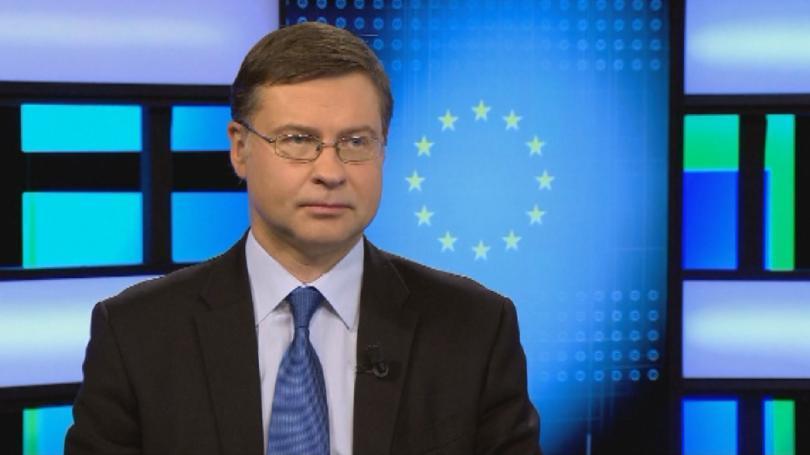 Валдис Домбровскис пред БНТ: Българската икономика е стабилна