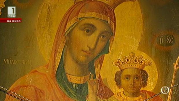 Разказ за чудотворната икона Св. Богородица Милостива от Лопушанския манастир