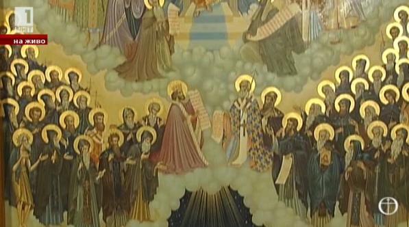 Разкази за българските светци и за възстановена лития в чест на св. Георги Софийски Новейши
