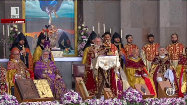 Арменската църква провъзгласи за светци жертвите на османския геноцид през 1915 г.