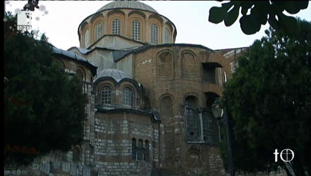"""Мозайки от известната истанбулска църква """"Хора"""""""