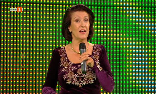 Певицата Гуна Иванова с 55-годишен творчески юбилей