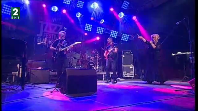 Концерт на Шакатак /Великобритания/ Международен джаз фестивал Банско 2016