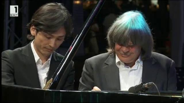Концерт на Аксел Цвингенбергер, Кейто Сайто и Рехан Саиед Бенд Международен джаз