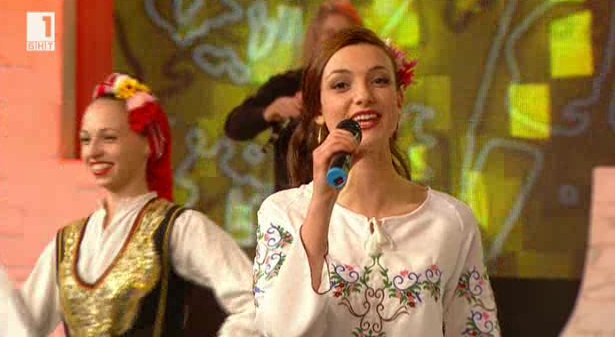 Боряна Василева и оркестър Млади тракийци в Иде нашенската музика