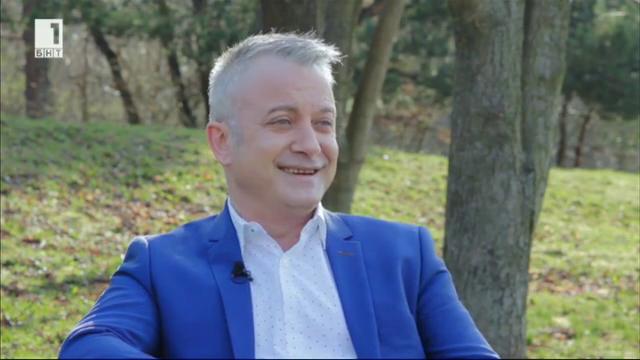 Интервю в парка с Добромир Банев