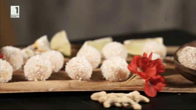 Ладу - кокосови бонбони с масло ги (повторение)