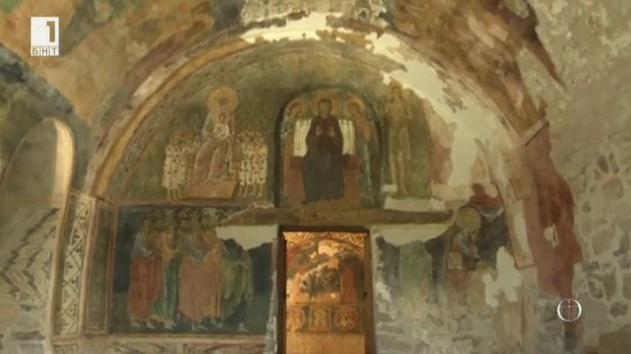 Стенописите от Костницата на Бачковския манастир