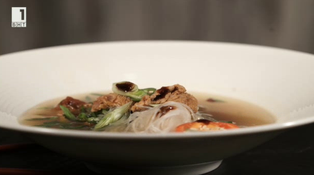 Печена свинска супа на барбекю
