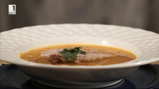 Кубинска супа със скумрия