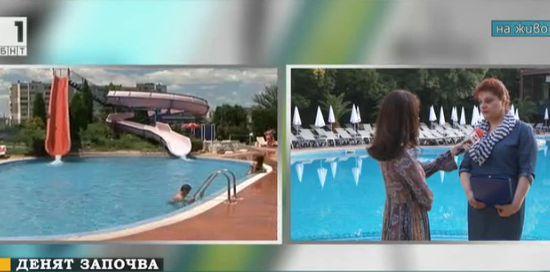 Проверки на басейните на открито преди началото на сезона