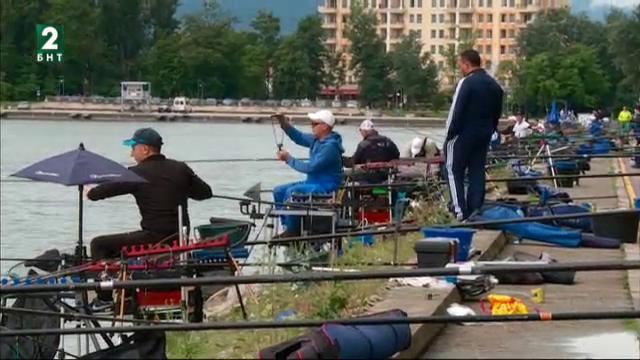 Републиканското първенство по риболов на Гребния канал в Пловдив