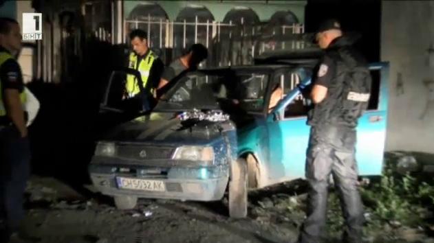 Полицейска акция в Нова Загора