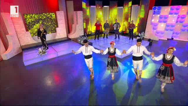 """Слава Соколова, ансамбъл """"Родолюбие"""" и детски танцов състав """"Нова генерация"""""""