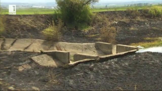 Проблемите на земеделците с напояването и отводняването в района на Нови Искър