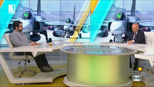 Красимир Грозев за избора на военни самолети