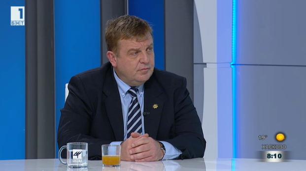 Каракачанов: Да се задействат трите проекта за модернизация на военните сили