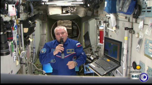 Поздрав за Несебър и фестивала Отечество от космонавта Фьодор Юрчихин