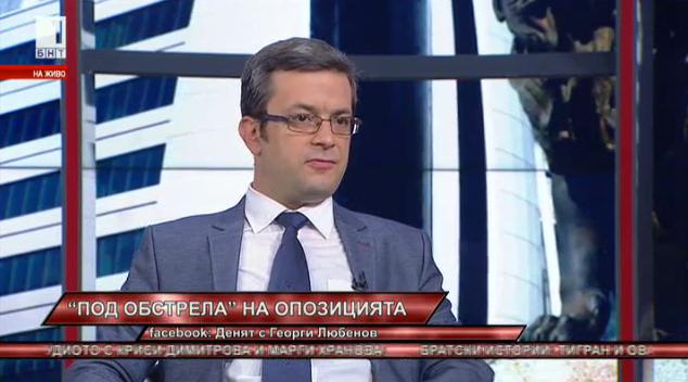 Тома Биков: БСП се опитва да вкара президента в една опозиционна роля