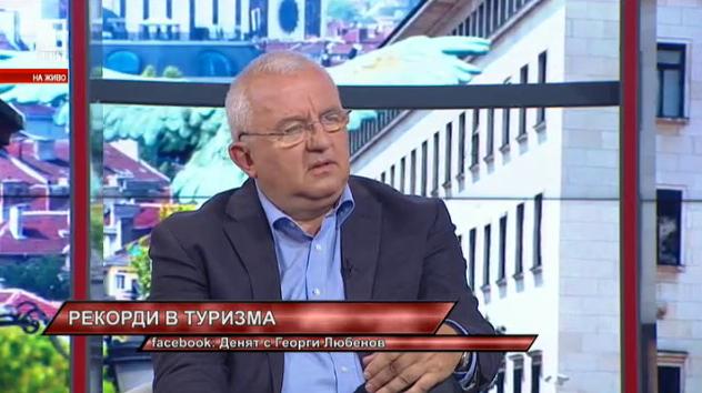 Румен Драганов: През месец август ще има над 2 млн. чуждестранни посетители