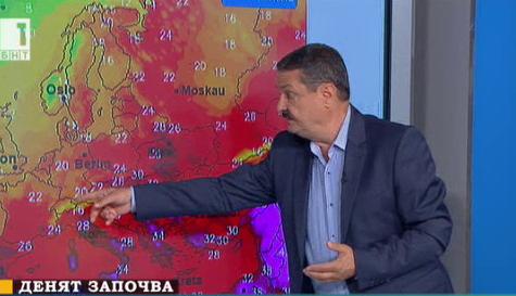 Георги Рачев: Днес и утре е върха на топлата вълна