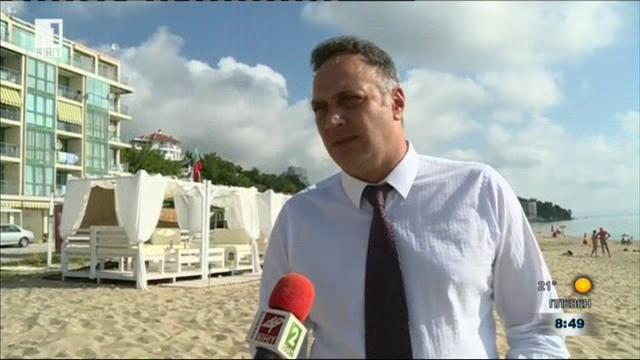 Незаконни заведения на плаж Кабакум - Централен