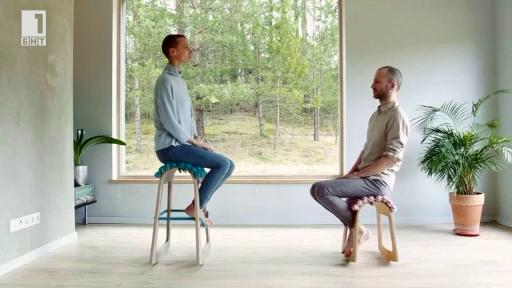 Стол, който помага да избегнем схващанията от работа пред компютър