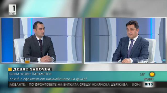 Спорове за външния дълг - Александър Иванов и Георги Търновалийски
