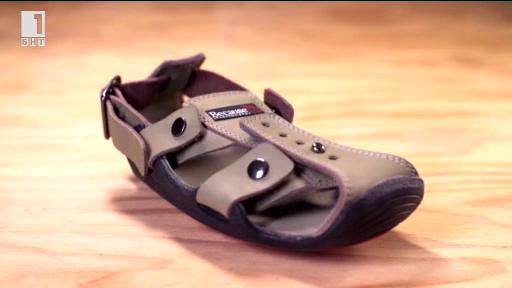 Обувки, които растат заедно с краката на децата