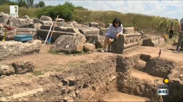 Храмът на Фортуна в Улпия Ескус е унищожен от земетресение